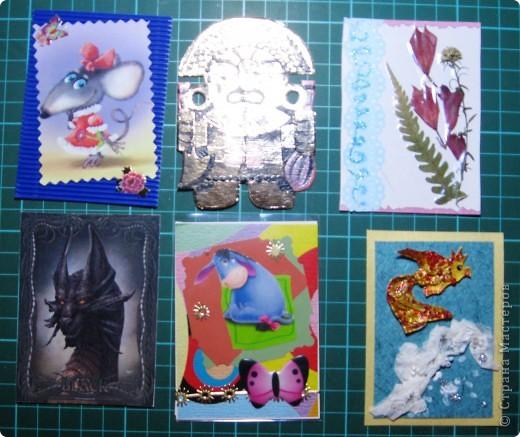 Вот такие тряпочки и бабочки встретились у нас на карточках. фото 9
