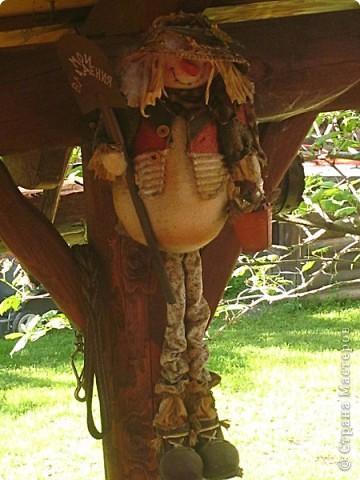 Чудо дачка моей тетушки.Все сделано собственными руками.Дядюшка мастер по дереву,сам изготавливает мебель и прочее. фото 4
