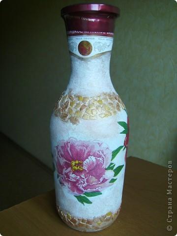 Делала в подарок бутылочку... фото 1