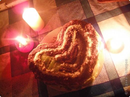 недавно готовила для любимого вот такой пирог со смородиной. Правда ганаш немного протек на лист. фото 2