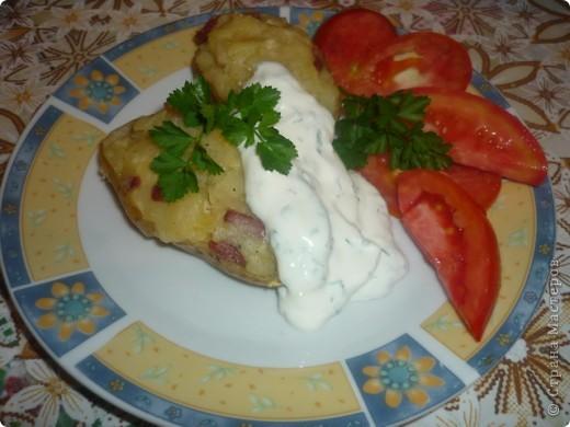 Картофельные кожурки (блюдо для микроволновой печи)