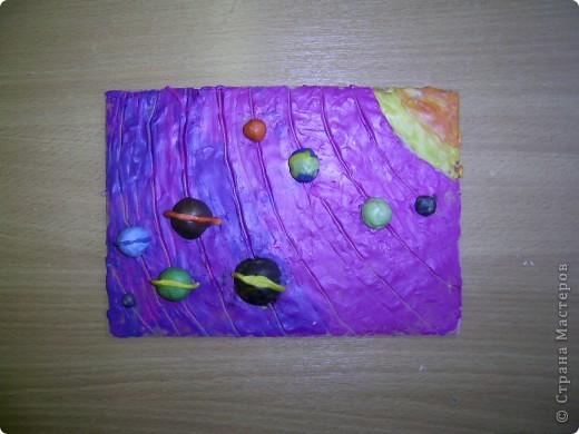 Работа моих учеников. Солнечная система.