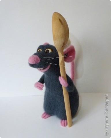 Крысёнок Рэми фото 2