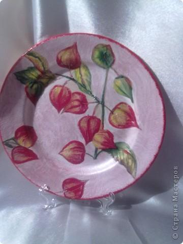 мои работы на тарелках-кракелюр получился более удачно фото 2