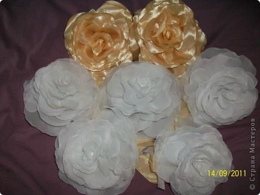 Розы по МК nerazly4niki фото 2