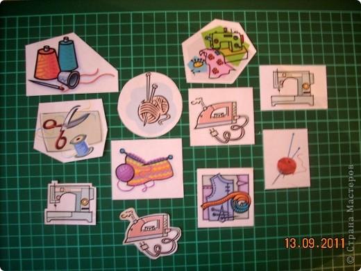 """Широкие возможности для школьного дизайна открывает предмет """"Технология"""". Использовать можно все техники, которые изучаются на уроке!  Представляю вам вариант обложки, в котором использованы: вышивка крестом, вязание крючком и аппликация. фото 4"""