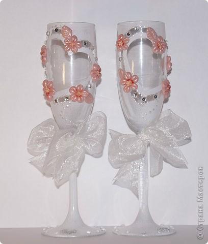 Свадебные бокалы. фото 3