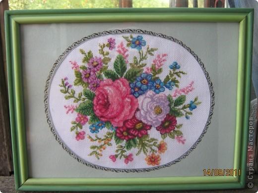 """Больше всего люблю вышивать цветы.  """"Лилия"""" фото 12"""