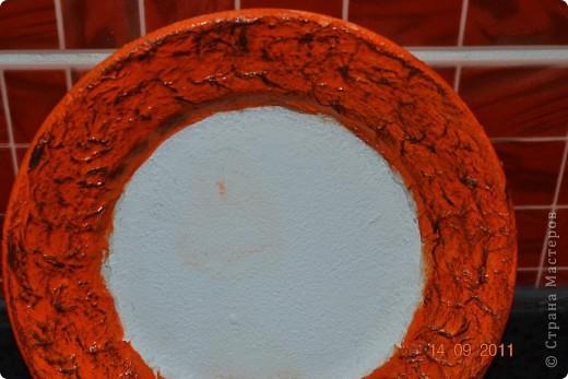 Понадобиться: Тарелки Клей ПВА Аква-лак Салфетки  Полоски меха  Шпагат натуральный Краски контурные Краски акриловые черная и серебо Белая краска водоимульсионная Гуаш  фото 10