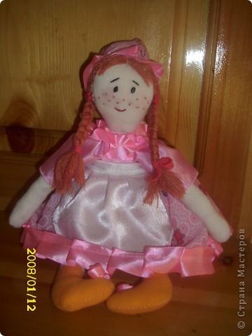 Кукла для моей дочурки фото 1