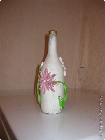 Вот делала бутылки под ликер который тоже делала сама. Правда в коллекции представлены не все бутылки некоторые подарила не сфотографировав фото 3