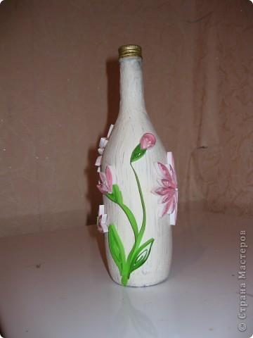 Вот делала бутылки под ликер который тоже делала сама. Правда в коллекции представлены не все бутылки некоторые подарила не сфотографировав фото 4