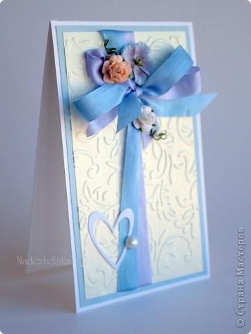 открытки - удивительные малышки )) никогда не устану их мастерить, наверное :) Это - для девочки: фото 5