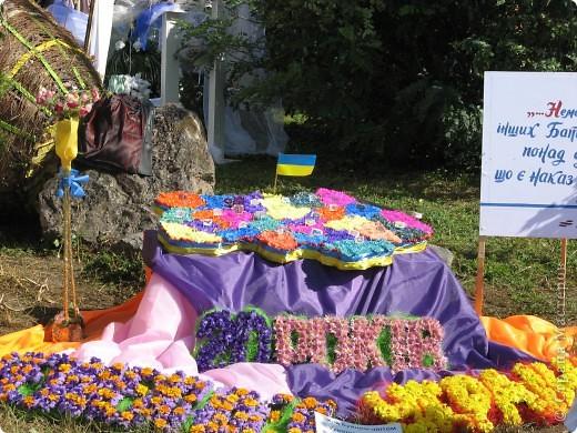 Каждый год в начале сентября в городе Белая Церковь проходит День города и так называемый Праздник цветов. Приглашаю всех желающих насладится красивым зрелищем к которому мастера готовятся целый год. фото 53
