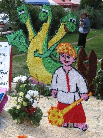 Каждый год в начале сентября в городе Белая Церковь проходит День города и так называемый Праздник цветов. Приглашаю всех желающих насладится красивым зрелищем к которому мастера готовятся целый год. фото 27