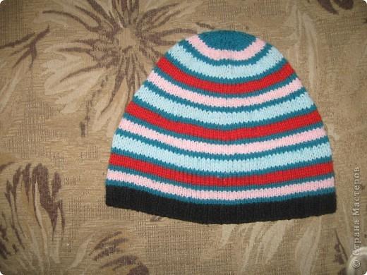 наборчик и шапочка для сына фото 3