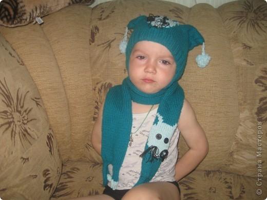 наборчик и шапочка для сына фото 1
