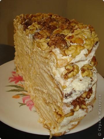 Конечно у каждой хозяйки есть свои 2-3 рецепта торта, кекса или десерта, которые получаются всегда. Вот и у меня есть такой рецепт торта «Наполеон».  фото 7