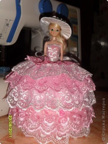 Эта принцесса сделана по мастер -  классу ineska http://stranamasterov.ru/node/128514. Спасибо Вам огромное!  фото 1