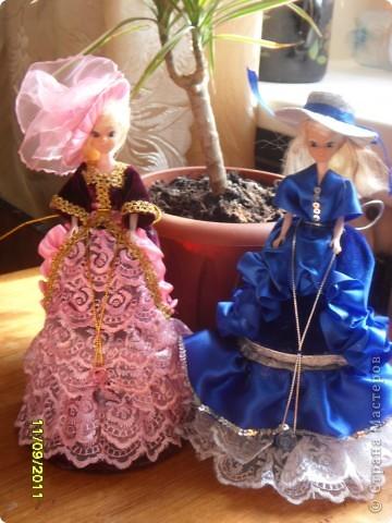 Эта принцесса сделана по мастер -  классу ineska http://stranamasterov.ru/node/128514. Спасибо Вам огромное!  фото 2