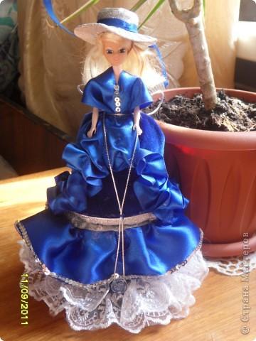 Эта принцесса сделана по мастер -  классу ineska http://stranamasterov.ru/node/128514. Спасибо Вам огромное!  фото 3