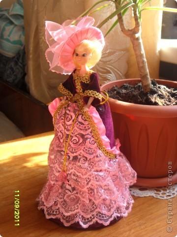 Эта принцесса сделана по мастер -  классу ineska http://stranamasterov.ru/node/128514. Спасибо Вам огромное!  фото 4