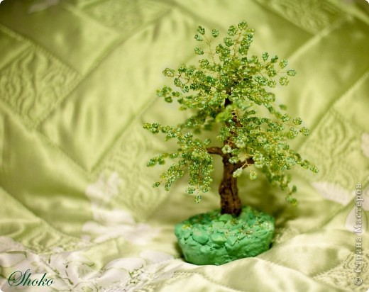 Синее деревце фото 5