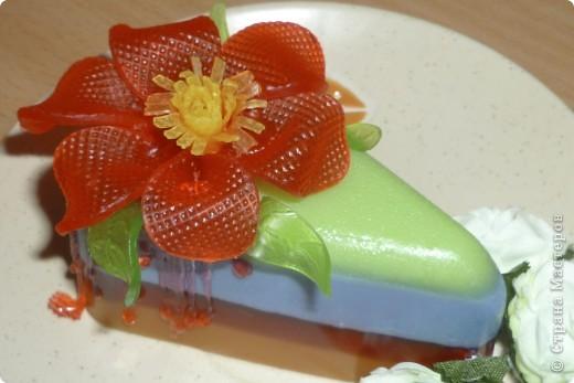 МК цветочек из мыла фото 1