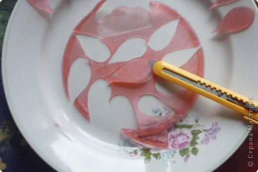 МК цветочек из мыла фото 5