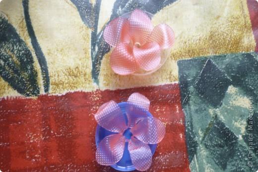 МК цветочек из мыла фото 12