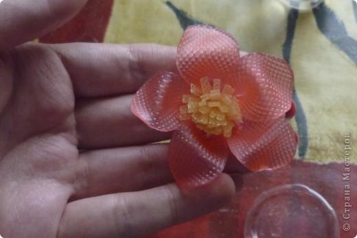 МК цветочек из мыла фото 17