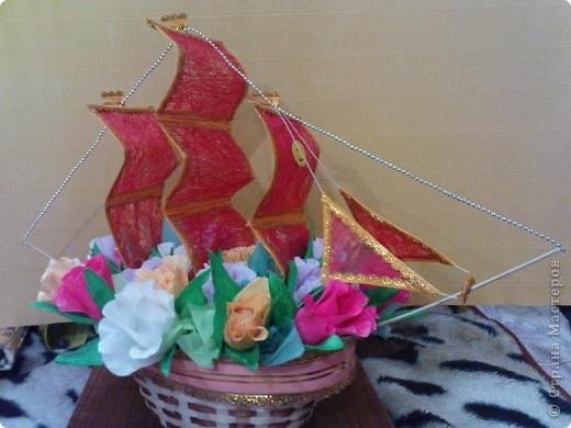 Кораблик конфетный фото 1