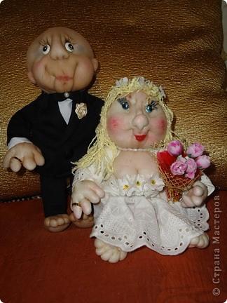 Вот такого жениха  для нашей невесты сделала.Заказ был  на жениха без волос фото 4