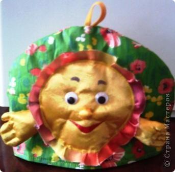 """Грелка для заварочного чайника """"Зайчик"""". Работа Кати Колпаковой, 12 лет. фото 3"""