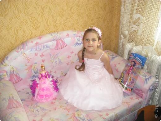 Кукла для пламяшки на день рождения. Это моя самая первая работа, очень хотелось порадовать сладкоежку. фото 1
