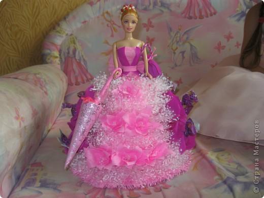 Кукла для пламяшки на день рождения. Это моя самая первая работа, очень хотелось порадовать сладкоежку. фото 2