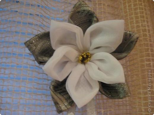 Здравствуйте, жители Страны мастеров!!!!    Я сегодня с новой работой-это цветок для дизайна (его можно и на штору повесить и использовать как украшение интерьера или ещё как-нибудь...) фото 6