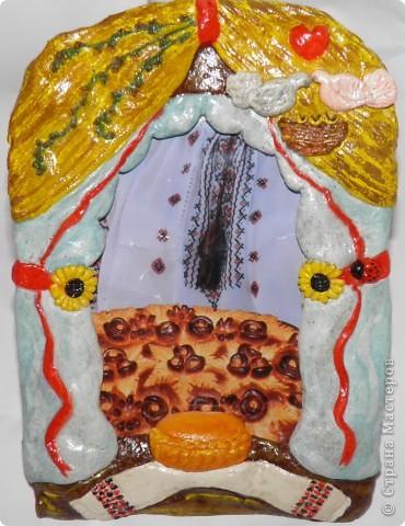 Моя первая украинская народная мукосолька. Не судите строго :) фото 1