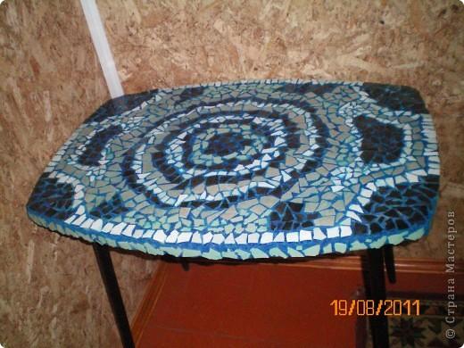 новый столик из сороколетнего столика фото 1