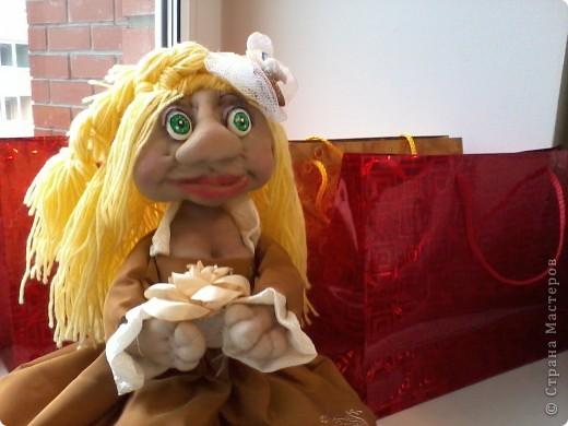Знакомьтесь - моя первая красавица-принцесса. Пока без имени - жду его от своей сестрёнки фото 1