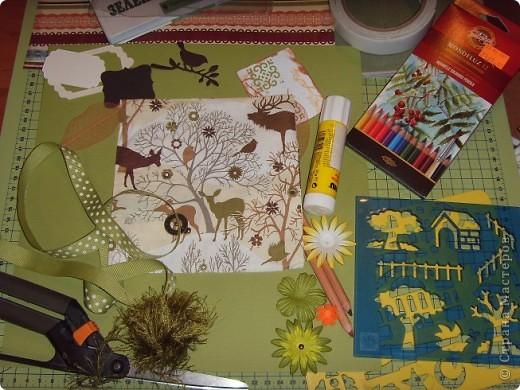 """Идея создания обложки возникла давно. Хотелось сделать обложку для учебника и рабочей тетради дочки.  Сразу в голове стали возникать образы.  Это будет обложка для  тетради по предмету """"Окружающий мир"""", но ведь это может быть и """"Природоведение"""", """"Зоология"""", """"Биология"""". фото 4"""