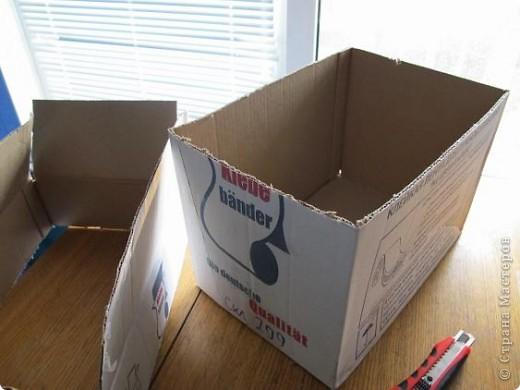 Я решила, что подруге явно не хватает в хозяйстве коробки для рукоделия. То, что это будет именно коробка, я решила точно, но вот какая она будет - долго перебирала варианты. В итоге вот что вышло.  Расскажу по этапно, может, кому пригодится)) фото 3