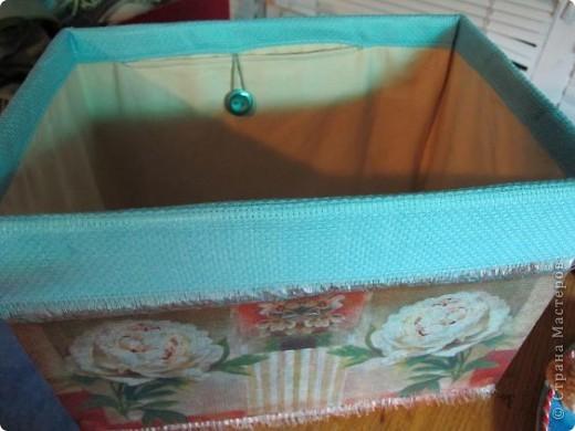Я решила, что подруге явно не хватает в хозяйстве коробки для рукоделия. То, что это будет именно коробка, я решила точно, но вот какая она будет - долго перебирала варианты. В итоге вот что вышло.  Расскажу по этапно, может, кому пригодится)) фото 15
