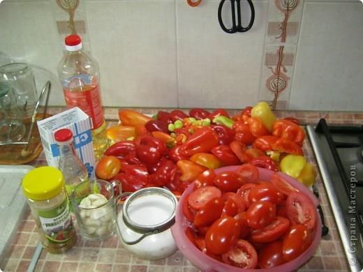 Осень, заготовки... Вкуснота... Люблю простые и быстрые рецепты. Вот один из многих нами любимых. Сколько бы не сделала, до весны не хватает))) фото 2
