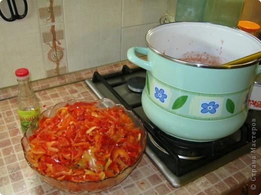 Осень, заготовки... Вкуснота... Люблю простые и быстрые рецепты. Вот один из многих нами любимых. Сколько бы не сделала, до весны не хватает))) фото 4