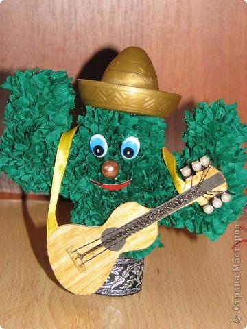 Сладкая парочка из Мексики (кактусы, торцевание) фото 2
