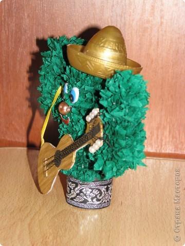 Сладкая парочка из Мексики (кактусы, торцевание) фото 3