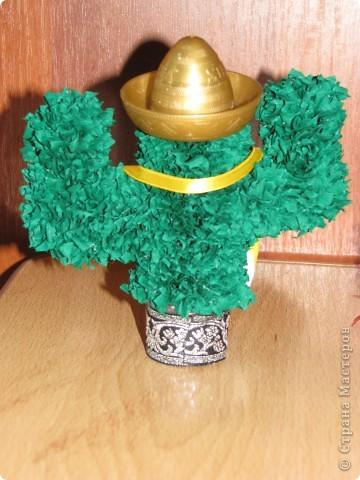 Сладкая парочка из Мексики (кактусы, торцевание) фото 4