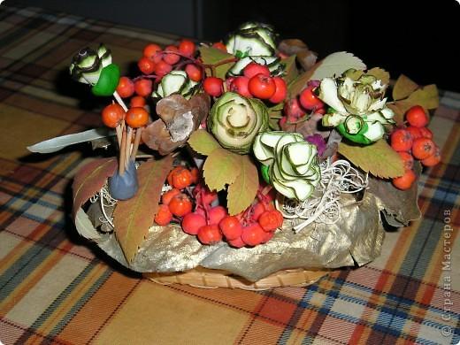 Красивый букет на праздник осени. Найдёте божью коровку?:)) фото 3