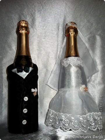 Бокалы для невесты и жениха фото 4